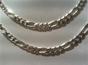 Silver Figaro Chain 925 Silver 14g